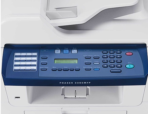 Xerox-Phaser-3300-panel-control