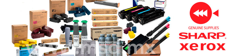 Consumibles-originales-sharp-xerox