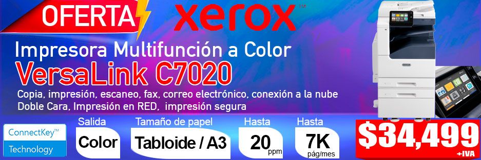 xerox color versalink C7020